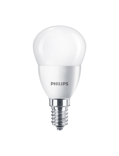 Philips LED лампа 5.5-40W P45 E14 неутрална светлина 871869977183601