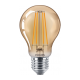 Philips LED лампа 5.5-48W A60 E27 Gold топла светлина 871869967356700 - LED лампи с класическа форма