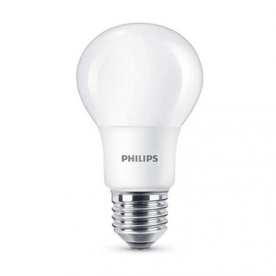 Philips LED лампа 60W A60 E27 топла светлина 871869657707302 - LED лампи с класическа форма