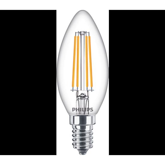 Philips LED лампа 6.5-60W B35 E14 неутрална светлина 871869964914200 - LED лампи с класическа форма