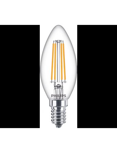 Philips LED лампа 6.5-60W B35 E14 топла светлина 871869976219300