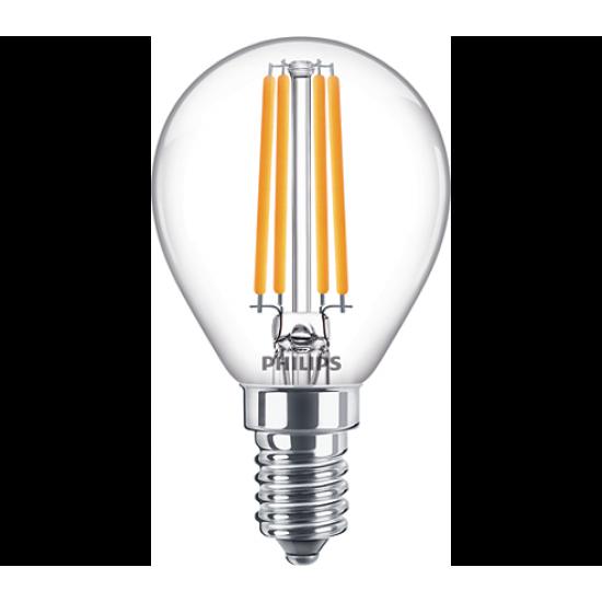 Philips LED лампа 6.5-60W P45 E14 неутрална светлина 871869964918000 - LED лампи с класическа форма