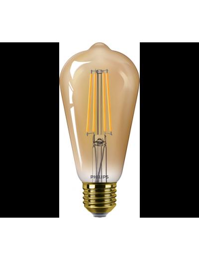 Philips LED лампа 5.5-48W ST64 E27 Gold топла светлина 87186996735810