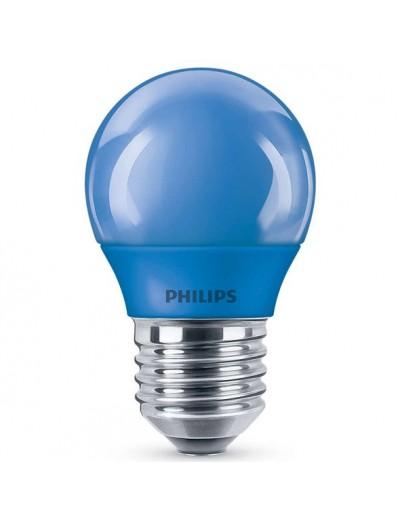 Philips LED лампа P45 E27 Синя 871869674862600