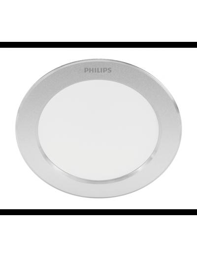 Philips LED панел 3.5W 2700K Diamond Cut Сребрист 871869977805700