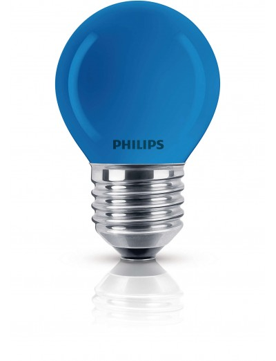 Philips Party синя 15W E27 220-240V P45 BL 1CT/4x5F 871150017747638