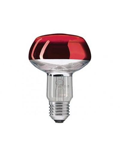 Philips Рефлекторна лампа рефлекторна 60 W E27 NR80 червена