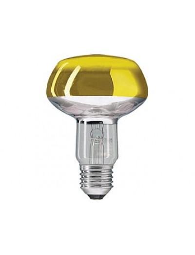 Philips Рефлекторна лампа рефлекторна 60 W E27 NR80 жълта