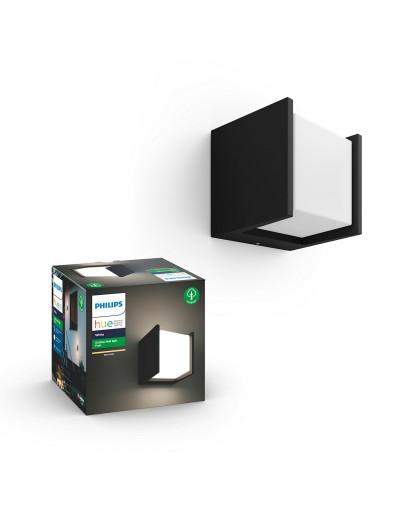 Philips, Външен аплик, WiFi, LED, 1150Lm, 15 W, Hue Fuzo, IP44, Бял, 1744530P7
