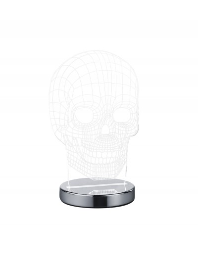 Reality LED Настолна лампа SKULL R52461106