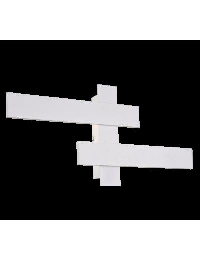 Trio Аплик BELFAST, 2x9W, LED, 4000K, 2x900lm, бял мат, 275510231
