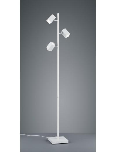 Trio Lagos Led Стояща лампа 3х5W, 400Lm, бял 427890331