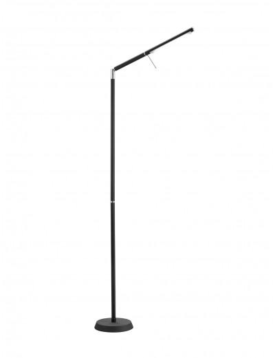 Trio Led Стояща лампа черен мат 1 Х LED 6W Filigran 420490132
