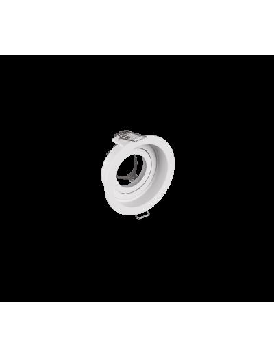 Trio Луна за вграждане KENAI, 1 x GU10, 15W, бяла 651500131