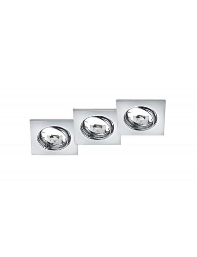 Trio Луни за вграждане К-т 3 бр GU10 Jura 650000306