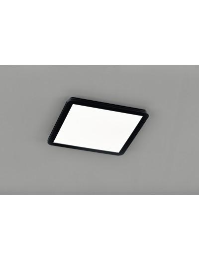 Trio Плафониера Camillus 1x24W Интегриран LED 2000Lm Черен мат IP44 R62932032