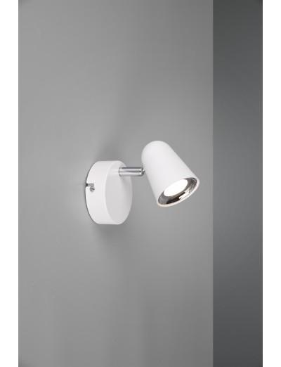 Trio Спот Toulouse 1x3W Интегриран LED 400Lm Бял мат R82121131
