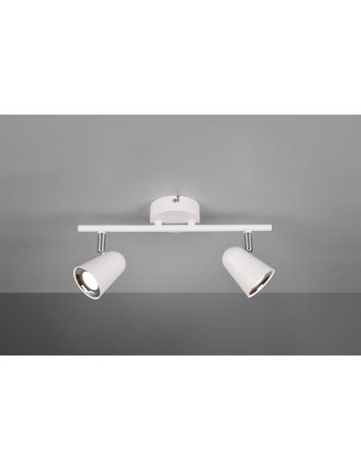 Trio Спот Toulouse 2x3W Интегриран LED 800Lm Бял мат R82122131