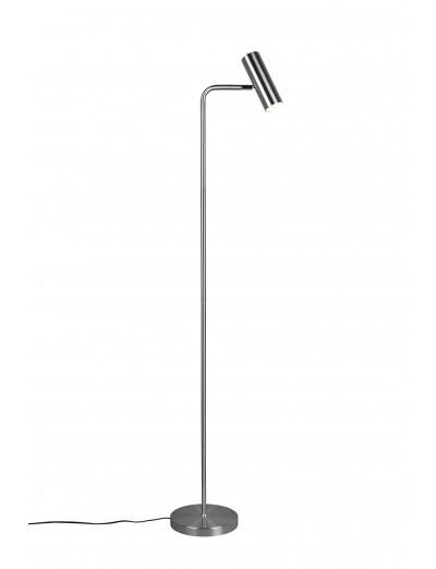 Trio Стояща лампа 5W, 1xGU10, Marley, никел мат 412400107