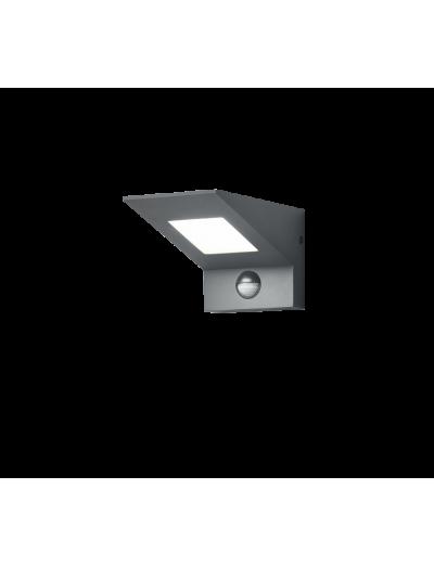 Трио Външен LED Аплик със сензор NELSON 9W, 3000K, 680Lm 225369142