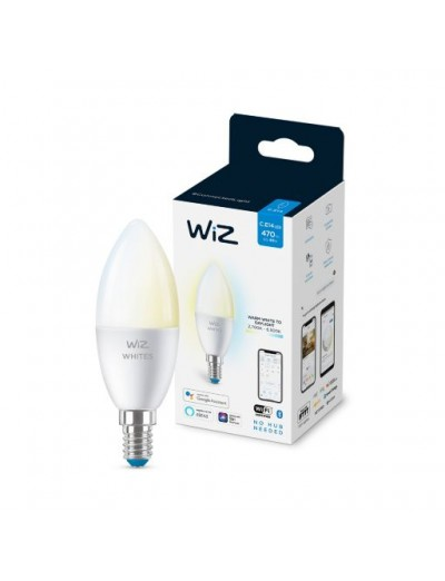 WiZ Wi-Fi LED лампа 40W BLE C37 E14 ТW 871869978707300