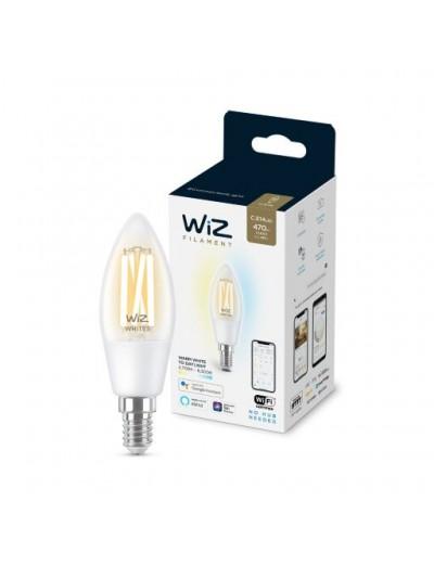 WiZ Wi-Fi LED лампа 40W C35 E14 CL TW 871869978719600