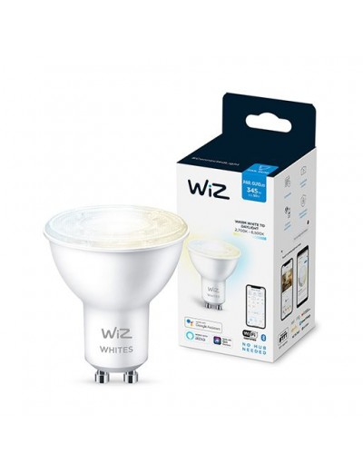 WiZ Wi-Fi LED лампа 50W BLE GU10 TW 871869978711000
