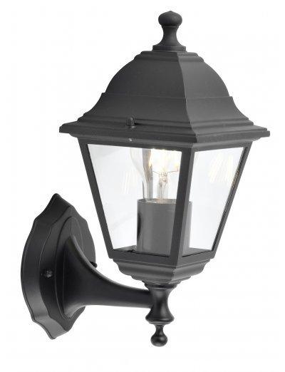 Belight Градинска лампа долен носач 1хE27 Черен IP44 34011-01-30