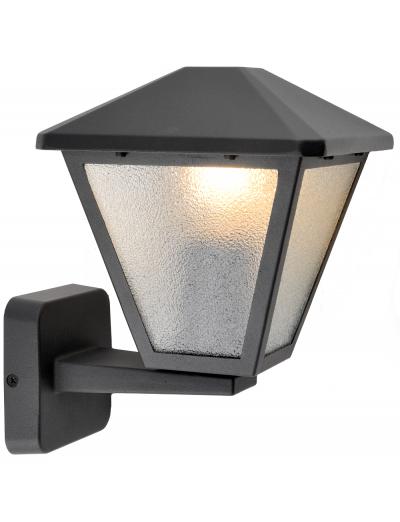 Belight Градинска лампа долен носач 1хE27 Черен IP44 34071-01-30