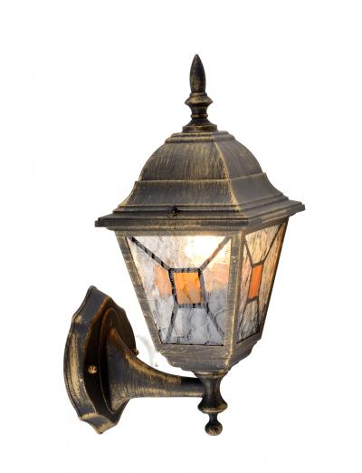 Belight Градинска лампа долен носач 1хE27 Златна патина IP44 34011-11-42