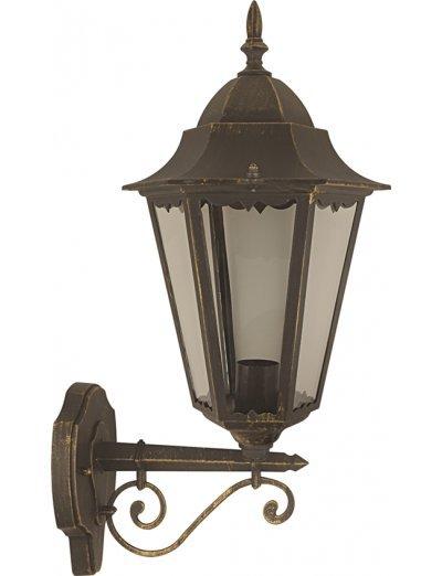 Belight Градинска лампа долен носач Е27 max 100W, златна патина 36001-01-42