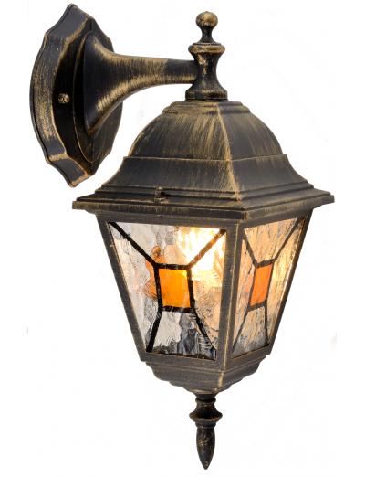 Belight Градинска лампа горен носач 1хE27 Златна патина IP44 34012-11-42