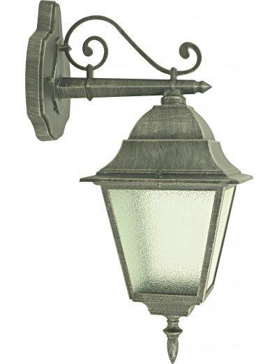 Belight Градинска лампа горен носач 1xЕ27 max 60W, сребърна патина 34002-01-54