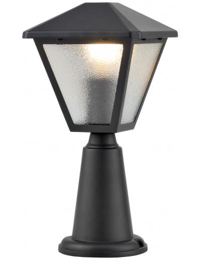 Belight Градинска лампа стояща 1хE27 Черен IP44 34074-01-30