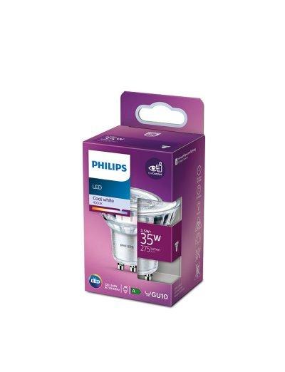 Philips LED лампа 3.5-35W GU10 неутрална светлина 871869977417200
