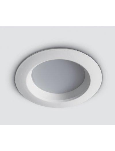 One light LED Луна за вграждане фиксирана кръгла бяла 7W WW 10107T/W/W