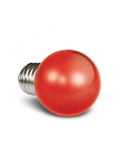 One light LED лампа червена 0.5w E27 230V 9G01/R/E