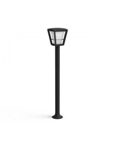 Philips, Градинска лампа, WiFi, LED, 1150Lm, 15 W, Hue Econic, IP44, Черен, 1744230P7