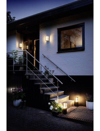 Philips, Градинска лампа, WiFi, LED, 1150Lm, 15 W, Hue Fuzo, IP44, Бял, 1744730P7