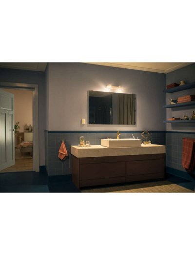 Philips HUE Adore Led спот за баня IP44 2xGU10 5.5W плюс димер ключ 3436031P7