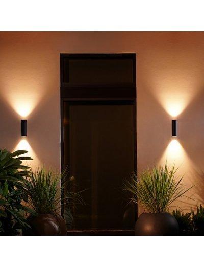 Philips HUE Градинска лампа Appear 16W RGB Интегриран LED 1200Lm 1746330P7
