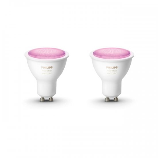 Philips HUE К-кт 2 бр. LED лампи RGB 871869962925000 - LED лампи HUE