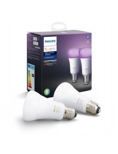 Philips HUE К-кт 2 бр. LED лампи RGB 871869967328400