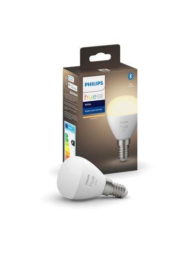 Philips HUE LED лампа White 5.5W E14 P45 871951426688900