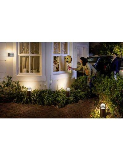 Philips HUE Lucca Led Градинска лампа антрацит 50 см включена - 1xE27 9.5 W 1740293P0