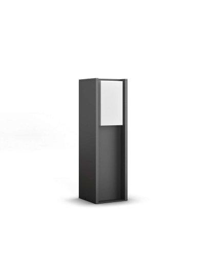 Philips HUE Turaco Led Градинска лампа антрацит 40 см включена - 1xE27 9.5 W 1647393P0