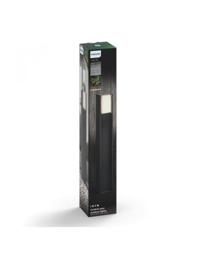 Philips HUE Turaco Led Градинска лампа антрацит 80 см включена - 1xE27 9.5 W 1647493P0