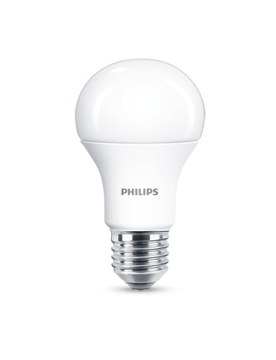Philips LED лампа 12.5-100W А60 Е27, студена светлина 871869976996300