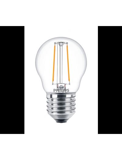 Philips LED лампа 2-25W P45 E27 топла светлина 871869976329900