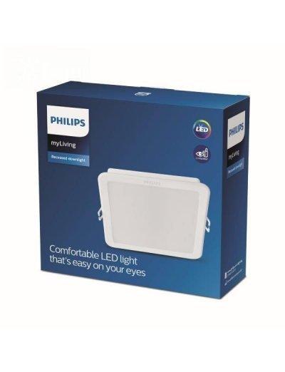 Philips LED панел 17 W 3000 K Meson 59467.31.E1